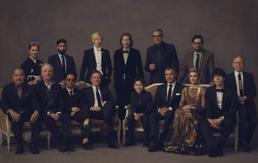 The cast of Wes Andersons ISLE OF DOGS